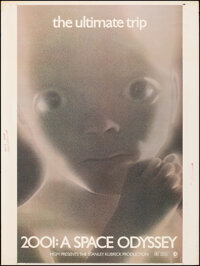 """2001: A Space Odyssey (MGM, 1971). Rolled, Very Fine-. Poster (30"""" X 40""""). Science Fiction"""