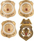 Political:Inaugural (1789-present), George H. W. Bush: Inauguration Police Badges.... (Total: 4 Items)
