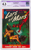 Golden Age (1938-1955):Science Fiction, Lars of Mars #10 (Ziff-Davis, 1951) CGC Apparent VG+ 4.5 Slight (A) Off-white to white pages....