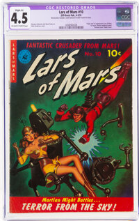 Lars of Mars #10 (Ziff-Davis, 1951) CGC Apparent VG+ 4.5 Slight (A) Off-white to white pages