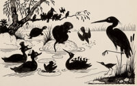 Walter Harrison Cady (American, 1877-1970) Animals in Silhouette