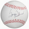 Autographs:Baseballs, George Steinbrenner Single Signed Baseball. ...