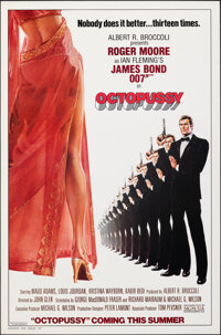 "Octopussy (MGM/UA, 1983). Rolled, Very Fine+. One Sheet (27"" X 41"") Advance, Style A. Dan Goozee Artwork. Jame..."