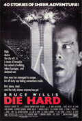 """Movie Posters:Action, Die Hard (20th Century Fox, 1988). Folded, Very Fine. One Sheet (27"""" X 40"""") SS. Action.. ..."""