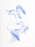 Original Comic Art:Illustrations, Sanjulian (Manuel Perez Clemente) - Vampirella Illustration Original Art (2020)....
