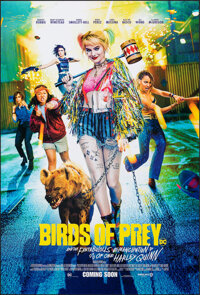 Birds of Prey: And the Fantabulous Emancipation of One Harley Quinn (Warner Bros., 2020). Rolled, Very Fine/Near Mint. O...