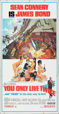"""Movie Posters:James Bond, You Only Live Twice (United Artists, 1967). Folded, Fine. Three Sheet (41"""" X 79"""") Frank McCarthy and Robert McGinnis Artwork..."""