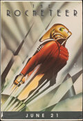 """Movie Posters:Action, The Rocketeer (Walt Disney Pictures, 1991). Rolled, Fine-. Bus Shelter (47"""" X 70"""") DS Advance. John Mattos Artwork. Action...."""