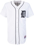Baseball Collectibles:Uniforms, 2014 Miguel Cabrera Playoff Issued Detroit Tigers Jersey with MLB & Jim Schmakel Authentication....