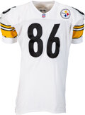 Football Collectibles:Uniforms, 1999 Hines Ward Game Worn Pittsburgh Steelers Jersey....