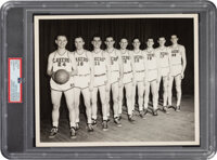 1950's Minneapolis Lakers Original Team Photograph with George Mikan, PSA/DNA Type 1