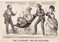 [Ulysses S. Grant]: Anti-Greeley Cartoon Featuring Victoria Woodhull