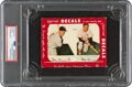 Autographs:Sports Cards, Signed 1952 Star-Cal Decals Stan Musial/Stan Musial #93-A PSA/DNA Authentic. ...