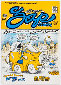 Zap Comix #1 Third Printing (Apex Novelties, 1968) Condition: FN