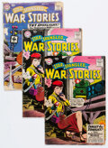 Golden Age (1938-1955):War, Star Spangled War Stories #86, 87, and 91 Group (DC, 1959-60) Condition: Average FR.... (Total: 5 Comic Books)