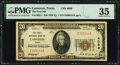 National Bank Notes:Texas, Cameron, TX - $20 1929 Ty. 1 The First National Bank Ch. # 4086 PMG Choice Very Fine 35.. ...