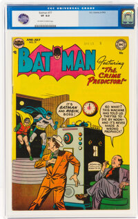 Batman #77 (DC, 1953) CGC VF 8.0 Off-white to white pages