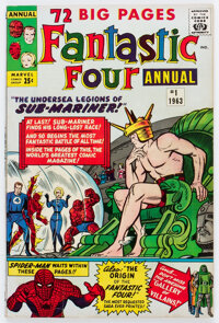 Fantastic Four Annual #1 (Marvel, 1963) Condition: FN-