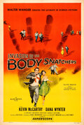 "Movie Posters:Science Fiction, Invasion of the Body Snatchers (Allied Artists, 1956). Very Fine- on Linen. One Sheet (27"" X 40.5"").. ..."