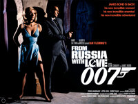 """From Russia with Love (2020). Rolled, Near Mint-. Commercial British Quad (30"""" X 40"""")"""
