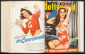 "Movie Posters:Miscellaneous, Hollywood Magazine (Fawcett Publications, 1941). Fine/Very Fine. Bound Magazines Volume (800+ Pages) (8.5"" X 11.25"" X 2""). M..."