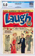 Golden Age (1938-1955):Humor, Laugh Comics #34 (Archie, 1949) CGC VG/FN 5.0 Off-white pages....