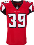 Football Collectibles:Uniforms, 2013 Steven Jackson Game Worn Atlanta Falcons Jersey with COA from NFL Auction....