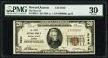 National Bank Notes:Kansas, Howard, KS - $20 1929 Ty. 1 The First National Bank Ch. # 3242 PMG Very Fine 30.. ...