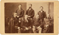 Photography:CDVs, George Armstrong Custer: Rare CDV of General Sheridan and Staff....