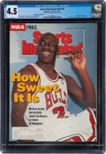 Basketball Collectibles:Publications, 1992 Kobe Bryant's Personal Subscription Copy of Sports Illustrated (6/22) with Michael Jordan on the Cover, CGC 4.5....