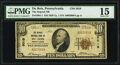National Bank Notes:Pennsylvania, DuBois, PA - $10 1929 Ty. 1 The Deposit National Bank Ch. # 5019 PMG Choice Fine 15.. ...