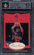 Basketball Cards:Singles (1980-Now), 1997-98 SP Authentic Sign Of The Times Michael Jordan (Redemption Card) #MJ BGS NM-MT+ 8.5....