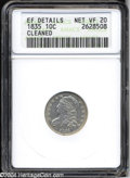 Bust Dimes: , 1835--Cleaned--Ef Details-- VF20 ANACS. ...