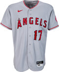 Baseball Collectibles:Uniforms, 2020 Shohei Ohtani Game Worn Los Angeles Angels Jersey, Photo Matched to 10 Games Including a Home Run & Game He Pitched!...