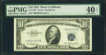 Small Size:Silver Certificates, Fr. 1706* $10 1953 Silver Certificate. PMG Extremely Fine 40 EPQ.. ...