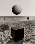 Photographs, Jerry Uelsmann (American, b. 1934). Untitled (Shapes on the Beach), 1979. Gelatin silver. 13-5/8 x 10-3/4 inches (34.7 x...