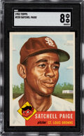 Baseball Cards:Singles (1950-1959), 1953 Topps Satchell Paige #220 SGC NM/MT 8....