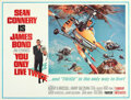 """Movie Posters:James Bond, You Only Live Twice (United Artists, 1967). Folded, Very Fine+. Subway (59.5"""" X 44.75"""") Style B, Frank McCarthy and Robert M..."""