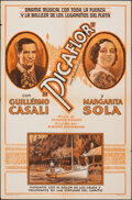 """Movie Posters:Foreign, Picaflor (ECA, 1935). Folded, Very Good. Spanish Language One Sheet (27"""" X 41""""). Foreign.. ..."""