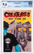 Modern Age (1980-Present):Alternative/Underground, Creatures of the Id #1 (Caliber Press, 1990) CGC NM+ 9.6 White pages....