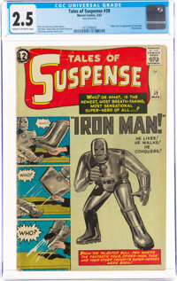 Tales of Suspense #39 (Marvel, 1963) CGC GD+ 2.5 Cream to off-white pages