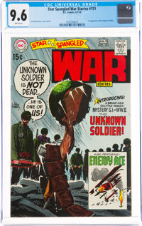 Star Spangled War Stories #151 (DC, 1970) CGC NM+ 9.6 White pages