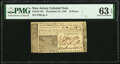 Colonial Notes:New Jersey, New Jersey December 31, 1763 18 Pence Fr. NJ-153 PMG Choice Uncirculated 63 EPQ.. ...