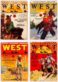 West Box Lot (Standard, 1926-43) Condition: Average GD+
