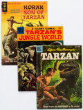 Silver Age (1956-1969):Adventure, Tarzan-Related Group of 21 (Various Publishers, 1950s-70s) Condition: Average VG+.... (Total: 21 Comic Books)