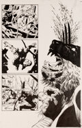 Original Comic Art:Splash Pages, Mike Deodato Jr. Wolverine: Origins Vol 1 #29 Half Splash Planche 5 (Marvel, 2005)....
