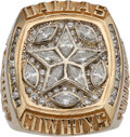 Football Collectibles:Others, 1995 Dallas Cowboys Super Bowl XXX Championship Ring Presented to Wide Receiver Cory Fleming....