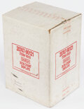 Basketball Cards:Unopened Packs/Display Boxes, 1990 Skybox Basketball Series 1 Case With 20 Unopened Boxes. ...