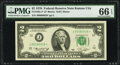 Fr. 1935-J* $2 1976 Federal Reserve Star Note. PMG Gem Uncirculated 66 EPQ