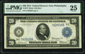 Fr. 972 $20 1914 Federal Reserve Note PMG Very Fine 25